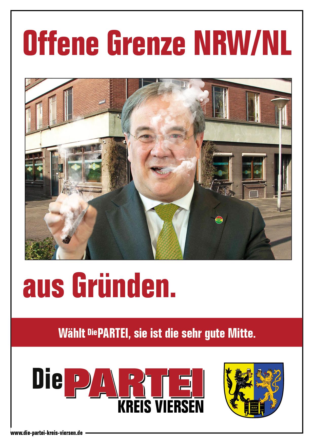 Offene Grenzen NRW/NL – Lusche rulez (not)!